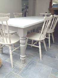 dining chairs white shabby chic dining room table and chairs