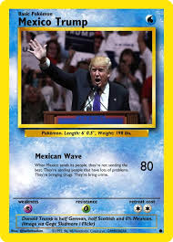Pokemon Card Meme - donald trump in pokemon card form helloitsadam