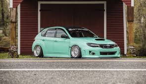 stanced subaru best stanced cars ricedcars twitter