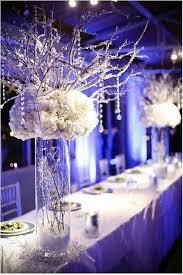 d coration mariage chetre centre de table mariage hiver bleu aqua bleu glace mariage
