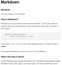Auto Detailer Resume Wp Markdown U2014 Wordpress Plugins