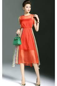 chiffon dress kettymore women floral printed chiffon dress multi color