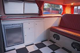 Retro Camper T2 With Retro Units Dubteriors Quality Vw Camper Interiors