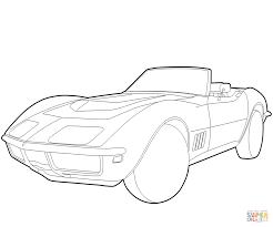 chevrolet corvette coloring page free printable coloring pages