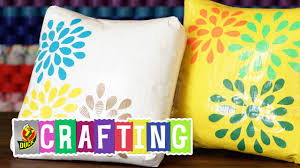 Decorative Scotch Tape How To Craft A Duct Tape Decorative Pillow Youtube