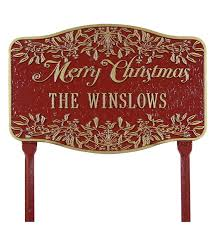 merry christmas signs personal merry christmas yard sign plow hearth