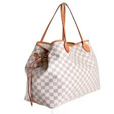 louis vuitton damier azur canvas neverfull gm tote sale