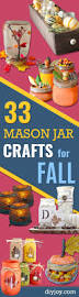 33 mason jar crafts for fall jars centerpieces and mason jars