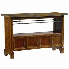 wood and metal console table bassett elway home wooden console table with slate tabletop ahfa