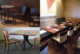 Live Edge Bar Table Hospitality U2014 Meyer Wells Reclaimed Wood Furniture