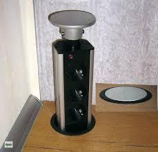 einbausteckdose küche küchen energiebox versenkbar 3 fach schuko steckdose ø 90