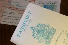 Do It Yourself Wedding Invitation Kits Vanessa U0027s Diy Passport Destination Wedding Invitations Pic Heavy
