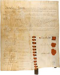parchment paper to write on press kits american originals national archives 1784 treaty with the six nations fort stanwix