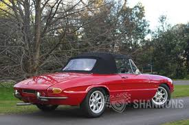 classic alfa romeo sedan sold alfa romeo u0027duetto u0027 1600 spider auctions lot 22 shannons