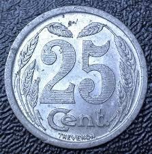 chambre du commerce evreux 1921 25 centimes aluminum chambre de commerce evreux