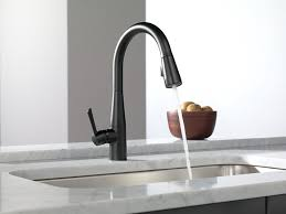 Touch Kitchen Faucet Reviews Kohler Barossa With Response Touchless Technology Single Handle