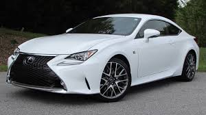 2015 lexus rc350 f sport start up road test and in depth review
