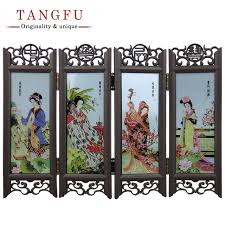aliexpress com buy home decor chinese antique beautiful folding