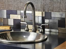 modern kitchen tiles backsplash ideas metal tile backsplash ideas modern 10 steel backsplashes pictures
