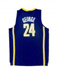 paul george signed jersey autographed jerseys