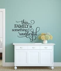 wall decals for the living room this family is something