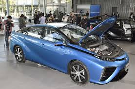 japanese vehicles toyota fuel cell the japan times