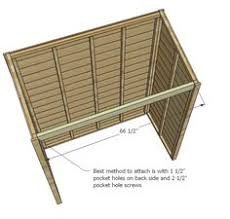 Free And Easy Diy Project And Furniture Plans by Ana White Build A Small Cedar Fence Picket Storage Shed Free