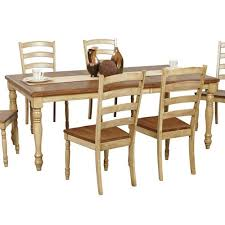 robins lane rectangular leg table with turned legs rotmans