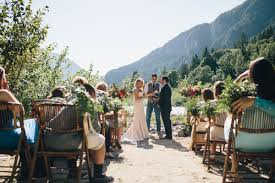 wedding venues washington state intimate mountain wedding in seattle amanda matt jess