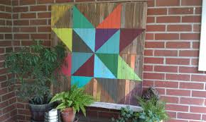 How To Make A Barn Quilt Barn Quilt Canvas Jetmore
