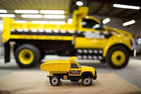 dump truck 2016 ford f 750 tonka dump truck concept shown at ntea show