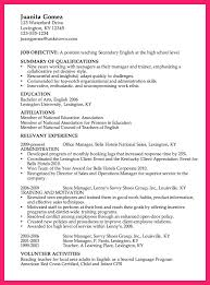 High Level Resume High Resume Examples Bio Letter Format