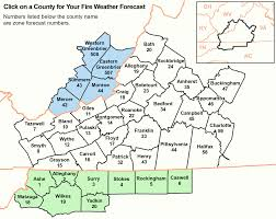 Floyd Va Map Nws Blacksburg Fire Weather Briefing Page