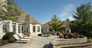 Backyard Concrete Ideas Fancy Backyard Concrete Patio For Home Decor Interior Design With