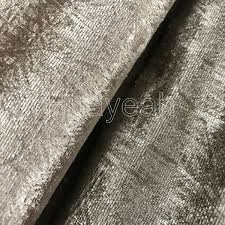 Grey Velvet Upholstery Fabric Sofa Fabric Upholstery Fabric Curtain Fabric Manufacturer Silk