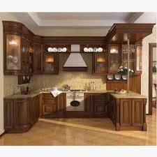 Wooden Kitchen Interior Design Kitchen Design In Pakistan Ash Wood Cabinets Al Habib Best Style