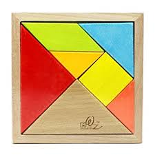 tangram puzzle mochohome premium wooden tangram puzzle with frame
