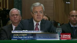 Wells Fargo Teller Positions Ceo John Stumpf Testifies Unauthorized Wells Fargo Accounts C
