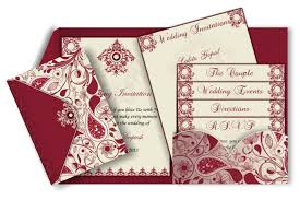 indian wedding invitation cards vintage style pocket fold invitation