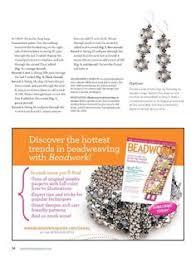 beadwork magazine earings pinterest beadwork and magazines