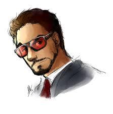 tony stark sketch by smudgeandfrank on deviantart