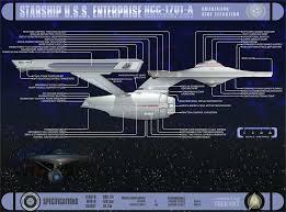 enterprise d schematic side view