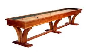 Game Table Plans Todd Mcclure Shuffleboard Tables Are The Name Of The Game