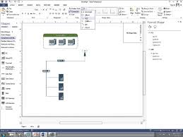 how to create a basic network diagram with visio 2013 youtube