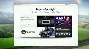 toyota financial desktop toyota com owners on vimeo