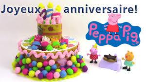 decoration cupcake anniversaire pâte à modeler peppa pig gâteau d u0027anniversaire play doh peppa