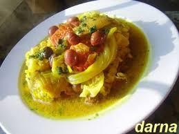 cuisiner choux blanc tagine de chou blanc aux olives recette ptitchef