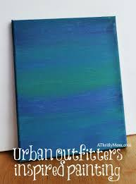 Urban Outfitters Inspired Painting - Thrifty home decor