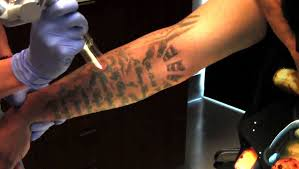 tattoo removal demonstration palm desert palm springs youtube