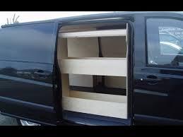 Cargo Van Shelves by Van Shelving Van Shelving Mounting Hardware Youtube